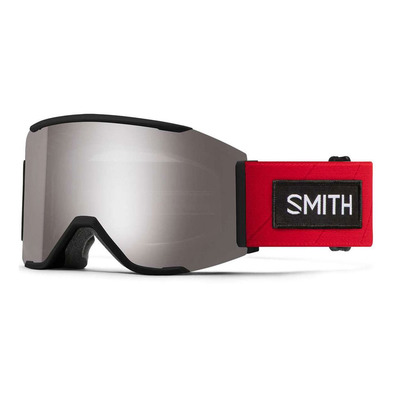 SMITH - AS SQUAD MAG - Gafas de esquí ac tnf red x - cps plt m / mo - cp storm rose flash