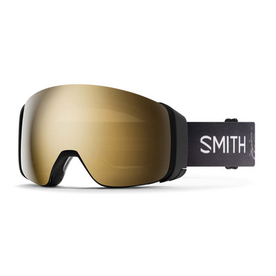 SMITH - 4D MAG - Gafas de esquí ac markusede - cps blk gld mr / mo - cp storm rose flash