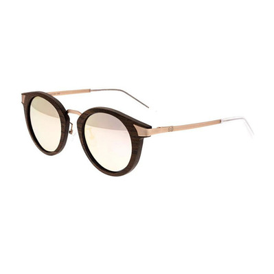 EARTH WOOD - ZALE - Polarised Sunglasses - brown/rose gold