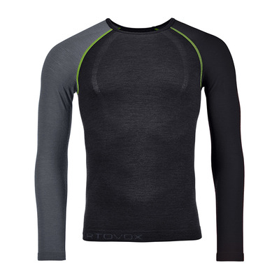 ORTOVOX - 120 COMP LIGHT LS - Funktionsshirt - Männer - black