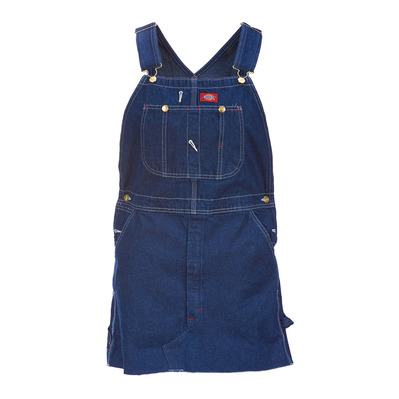 Dickies - HOPEWELL DENIM - Latzkleid - Frauen - rinsed ind/blue
