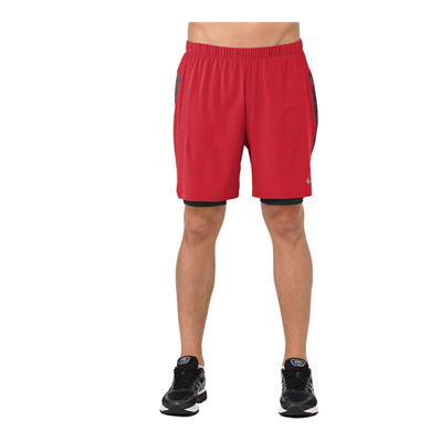 ASICS - 2-N-1 7IN - Shorts - Men's - mp classic red