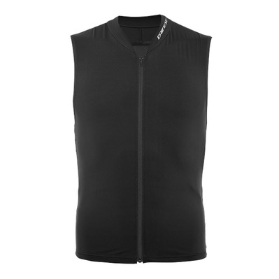 DAINESE - AUXAGON VEST - Gilet protection dorsale stretch-limo/stretch-limo