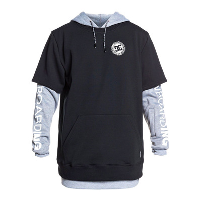 DC SHOES - DRYDEN - Sweat Homme black