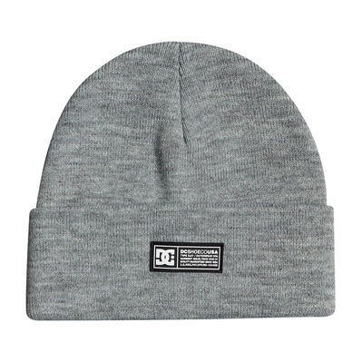 DC SHOES - LABEL BEANIE - Berretto Uomo frost gray