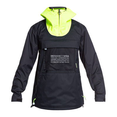 DC SHOES - ASAP ANORAK M SNJT KVJ0 Homme BLACK