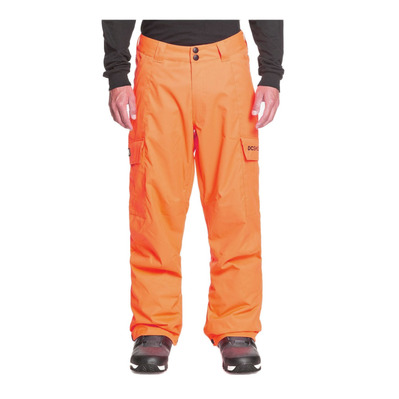 DC SHOES - BANSHEE - Pantaloni Uomo shocking orange
