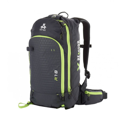 ARVA - REACTOR V2 18L - Airbag Backpack - grey/yellow