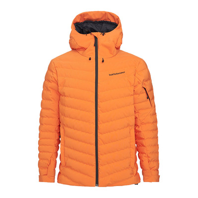 PEAK PERFORMANCE - FROST - Doudoune ski Homme orange altitude