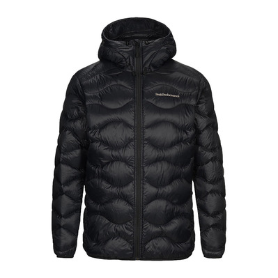 PEAK PERFORMANCE - M Helium Hood Jacket Black Homme Black
