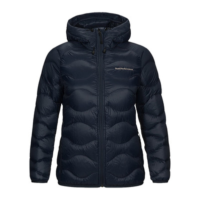 PEAK PERFORMANCE - W Helium Hood Jacket Blue Shadow Femme Blue Shadow
