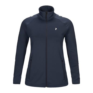 PEAK PERFORMANCE - RIDER - Giacca Donna blue shadow
