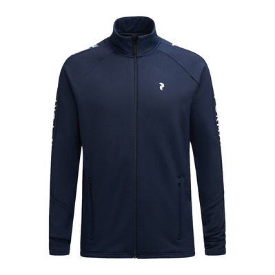 PEAK PERFORMANCE - M Rider Zip Jacket Blue Shadow Homme Blue Shadow