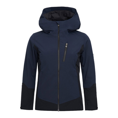 PEAK PERFORMANCE - SCOOT - Veste ski Femme blue shadow