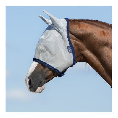 HORSEWARE - AMIGO - Masque anti-mouches silver/navy