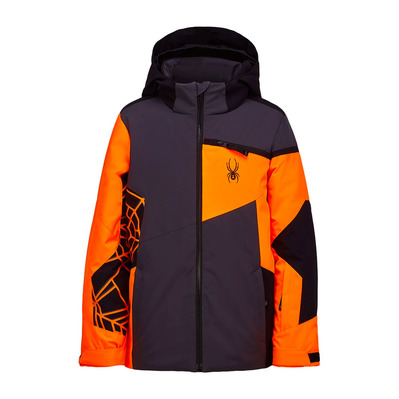 SPYDER - CHALLENGER - Veste ski Junior dark grey