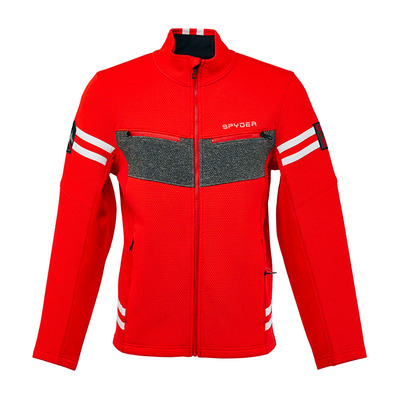 SPYDER - WENGEN ENCORE - Veste Homme bright red