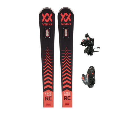 VOLKL - RACETIGER RC + VMOTION 12 GW - Pack skis race + Fixations Homme