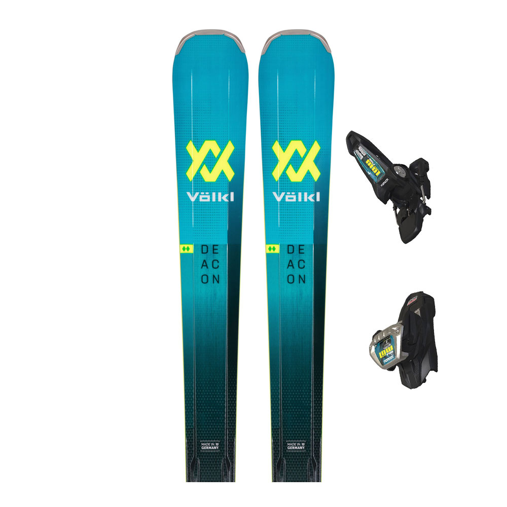 VOLKL - Volkl DEACON 84 + LOWRIDE XL 13 FR - Pack skis all-mountain + Fixations Homme