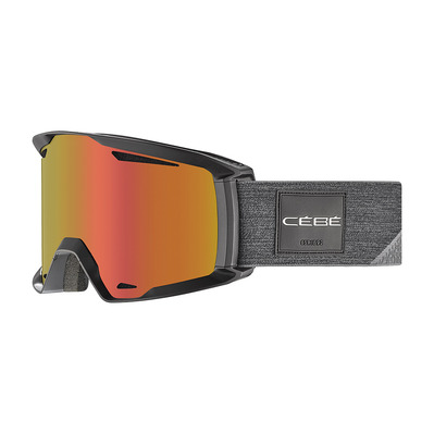 CEBE - REFERENCE - Masque ski photochromique full black/vario perfo amber flash red
