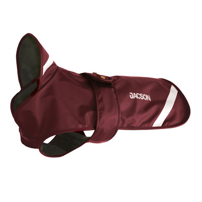 JACSON - PIPPI - Dog Coat - burgundy