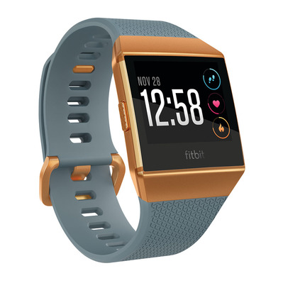 FITBIT - IONIC - Smart Watch - slate blue/burnt orange