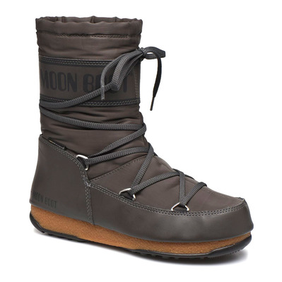 MOON BOOT - SOFT SHADE MID WP - Apres-Ski - Women's - anthracite