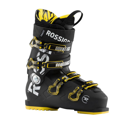 ROSSIGNOL - TRACK 90 - Chaussures ski Homme black/yellow