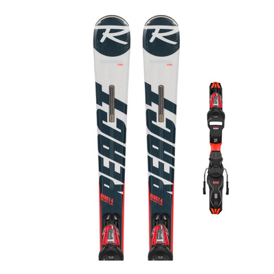 ROSSIGNOL - REACT 4 SPORT CA + XP11 GW - Pack skis piste + Fixations Homme
