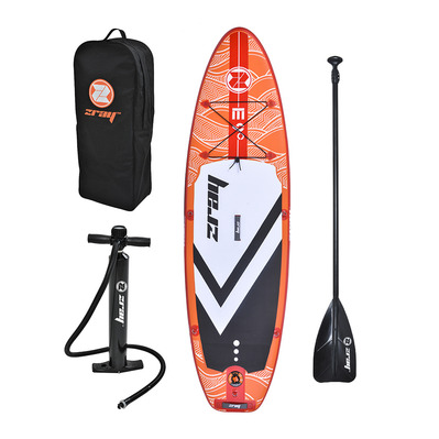 Z-RAY - EVASION 9' 2020 - Inflatable SUP Board - orange + Accessories
