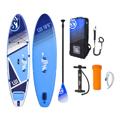 SKIFFO - LUI 10'6 - Inflatable SUP Board - blue/white + Accessories
