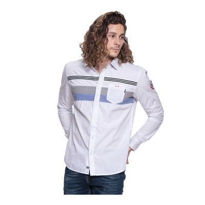 WILDSTREAM - DRENCH - Camisa hombre white