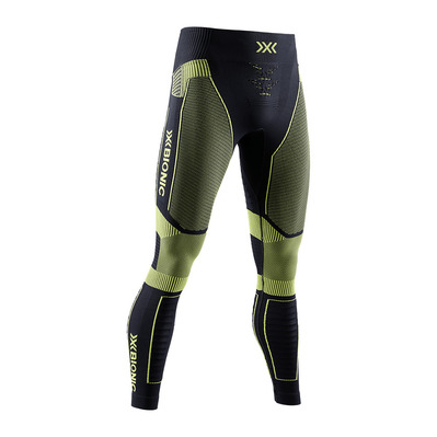 X-BIONIC - EFFEKTOR RUN P M - Tights - Men's - opal black/effektor green