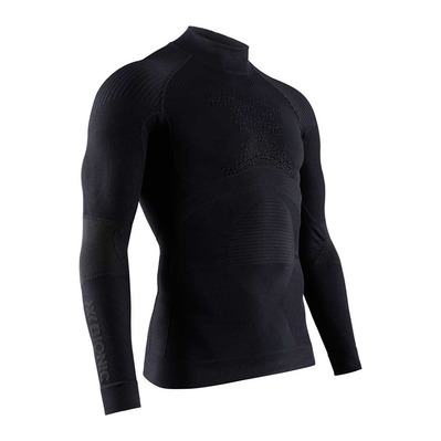 X-BIONIC - ENERGY ACCUM TNECK LS M - Base Layer - Men's - black/black