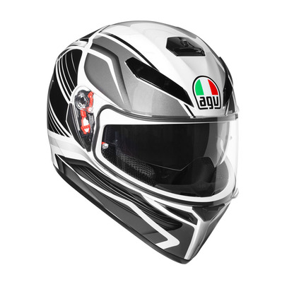 AGV - K-3 SV MULTI - Casco integrale black/silver