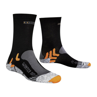 XSOCKS - X-Socks RUN WINTER - Calze black