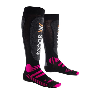 XSOCKS - X-Socks SKI ALLROUND - Calze Donna black/purple
