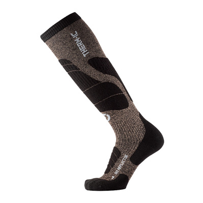 THERM-IC - SKI MERINO REFLECTOR - Chaussettes ski black