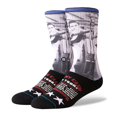 STANCE - CASH ON TOUR - Calze Uomo black