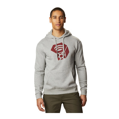 MOUNTAIN HARDWEAR - MHW Logo™ Pullover Hoody Homme Heather Manta G