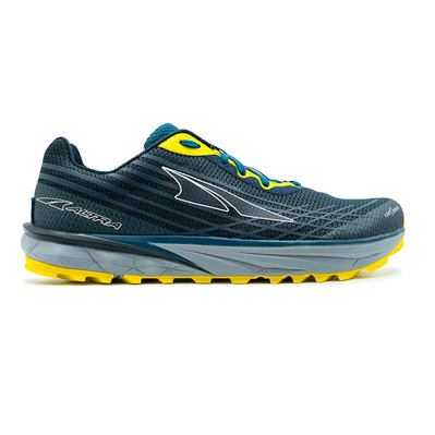 ALTRA - TIMP 2 - Trail Shoes - Men's - moroccan blue/yellow