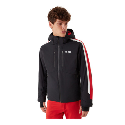 COLMAR - M. DOWN SKI JACKET Homme BLACK-BRIGHT RED-WHI1063-1VC-99