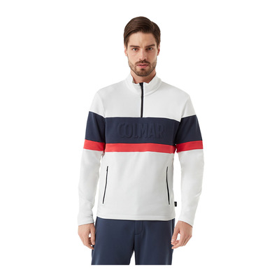 COLMAR - MENS SWEATSHIRT Homme WHITE-BLUE BLACK-BRI8397-9UE-01