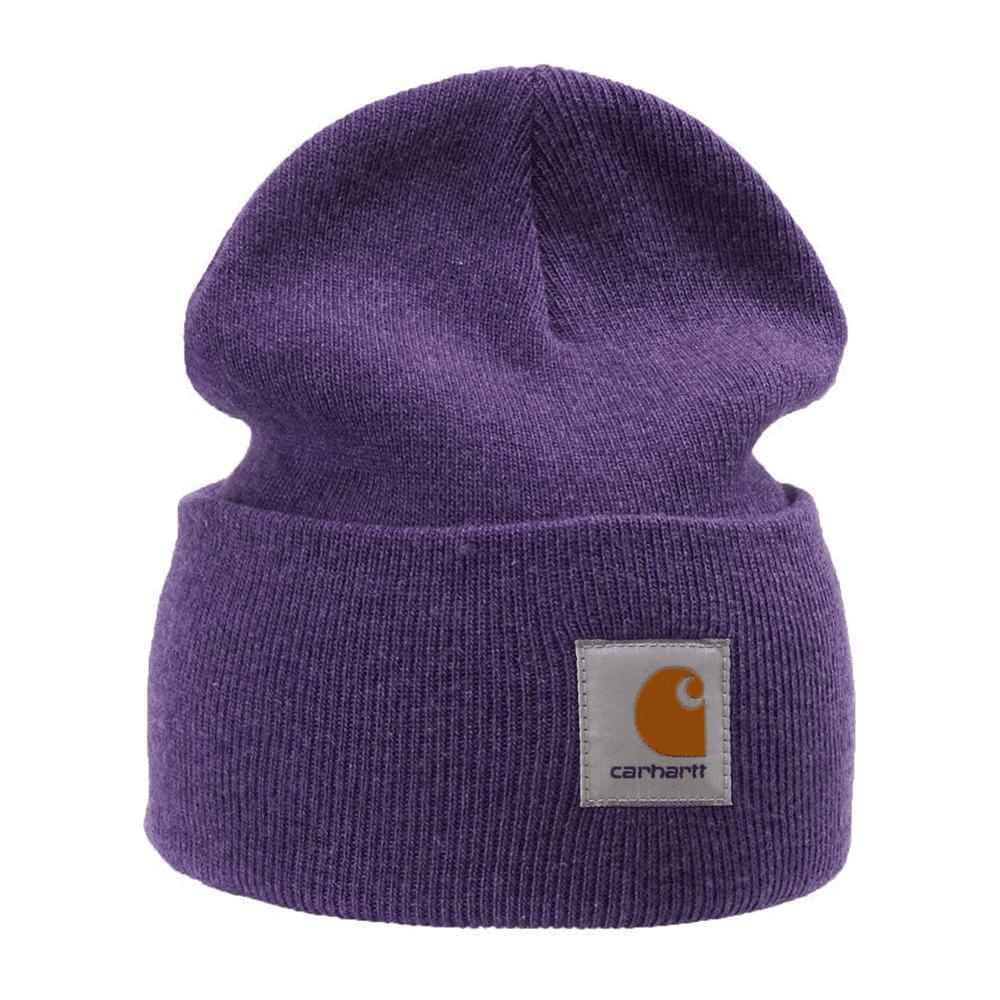 SPORTSWEAR Carhartt ACRYLIC - Bonnet Homme violet ...