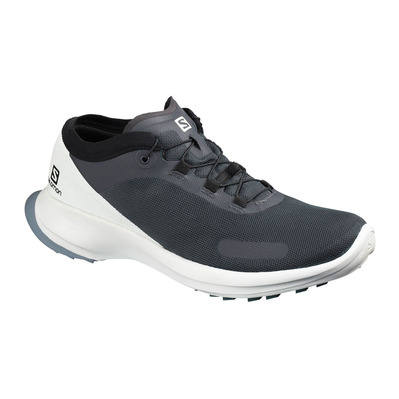 SALOMON - SENSE FEEL - Zapatillas de trail mujer india ink/white/flint stone