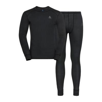 ODLO - ACTIVE WARM ECO - Sous-couche + Collant Homme black