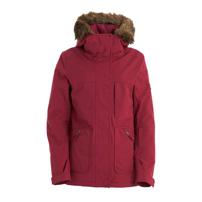 BILLABONG - INTO THE FOREST - Veste Femme ruby wine