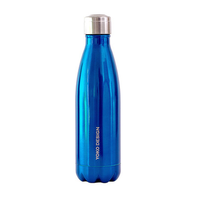 YOKO DESIGN - BRILLANT - Bottiglia isotermica 500ml blue