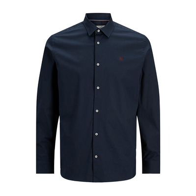 JACK & JONES - JPRBLAWORLD - Camisa hombre navy blazer