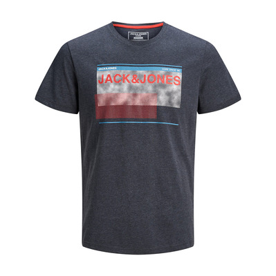 JACK & JONES - MALE JCOSTAR - Camiseta hombre sky captain